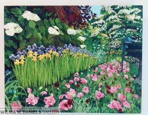 Butchart Garden: Side Garden by Deborah Quinn
