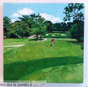 Pine Valley Country Club: Hole #4 by Deborah Quinn
