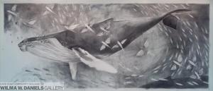 For Johannes: A Charcoal Study for a Painting. by Victoria Paige