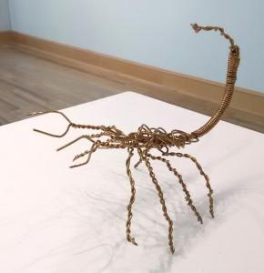 Wire Scorpion by Kristen O'Neil