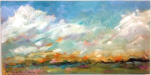 Cloud Scape by Kirah Van Sickle