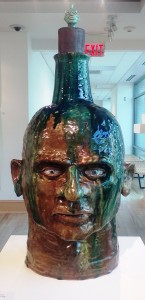 Large Face Jug by Geoff Calabrese