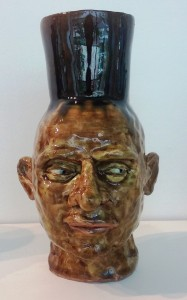 Small Face Jug by Geoff Calabrese