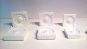 Three Functional Molds by Kevin Dunn