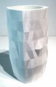 Rumpled Geometry Cup by Kevin Dunn
