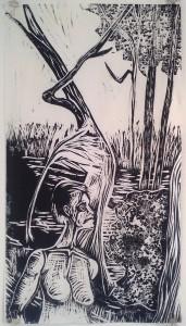Forest Nocturne 1 by Ben Billingsley
