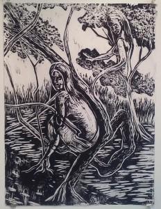 Forest Nocturne 3 by Ben Billingsley
