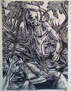 Forest Nocturne 5 by Ben Billingsley