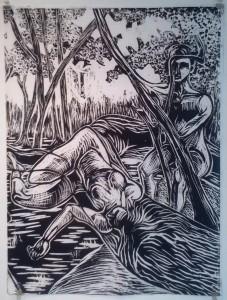 Forest Nocturne 6 by Ben Billingsley