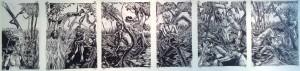 Forest Nocturne 1-5 by Ben Billingsley