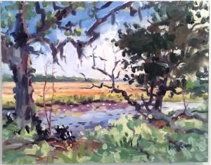 Marsh Shadows by Chip Hemingway