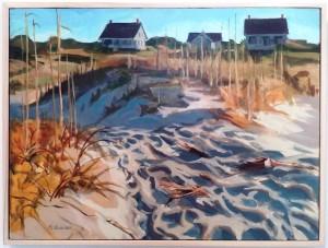 Bald Head Island by Nat Dickenson