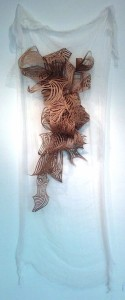 Webs of Seaweed on Swaddling Genevieve Vanzandt