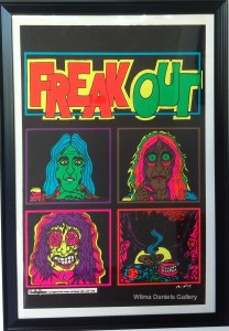 """""""Freak Out"""". 1973. McGuire. One Stop Posters."""