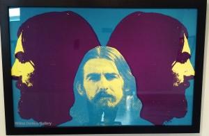 """George Harrison""."