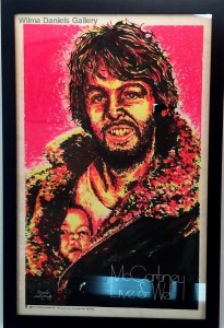 """Paul McCartney:Live and Well"". 1970. Dail. W. Becghly. Creative Posters."