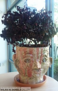 Double Faced Pot by Lala Melosh