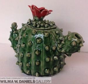 Cactus Teapot by Sarah Hodge