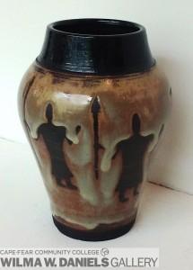 Cave Man Vase by David Fernadez