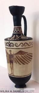 Greek Lekythos by Maxwell Reinbachs
