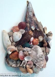 Mask # 5. Shells.