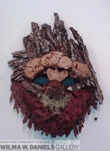 Mask 9. Pine.