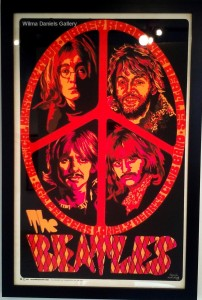 """The Beatles"". 1969. Dail W.  Becghly. Creative Posters."