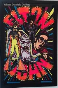 """""""Elton John"""". 1975. Pro. Arts."""