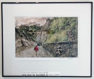 """Entering Saltsburg Castle"" by Jeff Murphy. UNC-Charlotte."