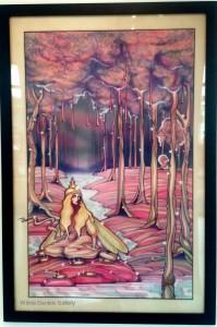 """""""Forest Fairy"""". 1972. Joe Pentagno."""