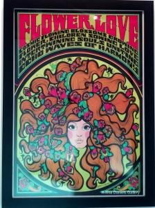 """""""Flower Love"""". 1967. C. Keelan. Personality Posters."""