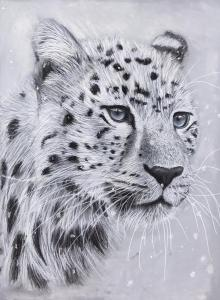 """Snow Leopard""by Breanna Fowler"