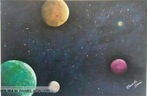 Head in the Stars by Amanda Aburahmeh.