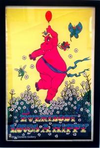 """Everybody Loves A Hippie"". 1970.  Sunset Marketing."