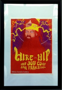 """""""Hire the Hip"""". 1967. John Thompson. Astro Posters."""