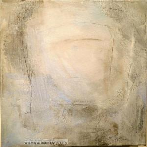 White Chair Diptych by Gayle Tustin