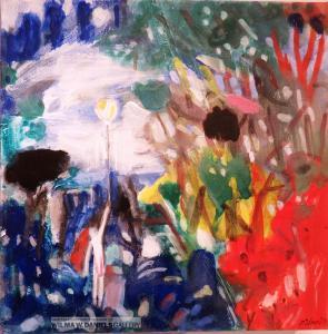 Balloon Series #1 by Gerlinde Pistner