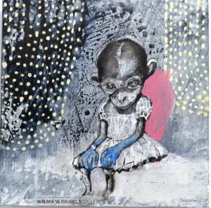 Monkey Girl 1 by Lone Seeberg