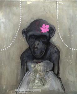 Monkey Girl 2 by Lone Seeberg