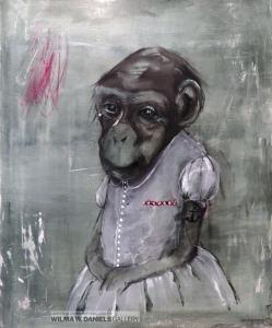 Monkey Girl 3 by Lone Seeberg