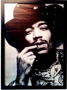 """Jimi Hendrix"". 1970. Personality Posters."