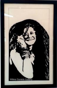 """""""Janis Joplin"""". Pentagno."""