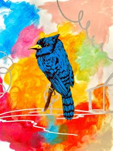 """""""Little Blue Bird (for Mary)""""by Tyler Parrish"""
