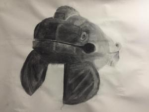 """Wooden Frog Guiero Close Up"" by Alexa Prieto"