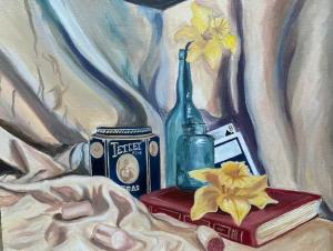 """""""Still Life with Tin"""" by Elise Salerno"""