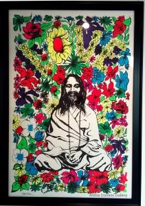 """""""Maharishi Mahesh Yogi'. Poster Prints."""
