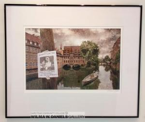 """Canoeing Nuremberg"" by Heather Freeman. UNC-Charlotte."