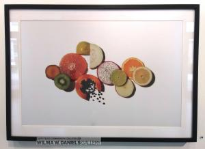 """Cut Fruit"" by Dhanraj Emanuel. Randolph Community College."