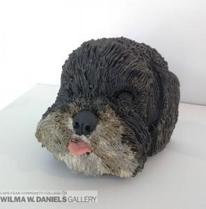 Fluffy Puppy by Rachel Artz.