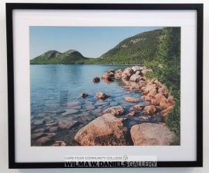 """Jordan Pond, Acadia National Park"" by Erin Arsenault. Randolf Community College."